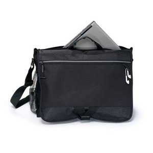 Focus Computer Messenger Bag - Black